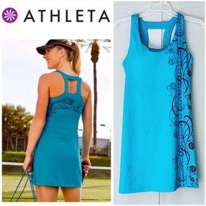 ❤️ Athleta Momentum Tennis Dress With Bra
